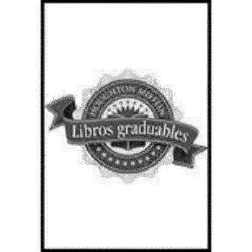 9780618367443: Libros graduables: Individual Titles Set (6 copies each) Level X Un lago azul profundo (Spanish Edition)