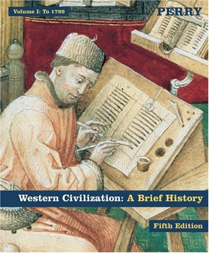 9780618370320: Western Civilization: A Brief History Volume I: To 1789