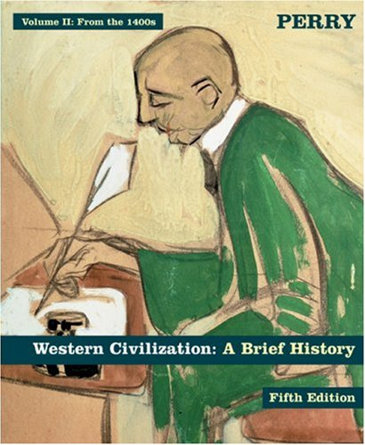9780618370337: Western Civilization: A Brief History, Fifth Edition - Volume 2, From The 1400s ,