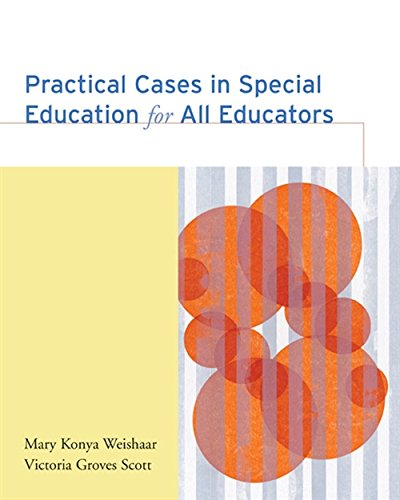 9780618370856: Practical Cases in Special Education for All Educators