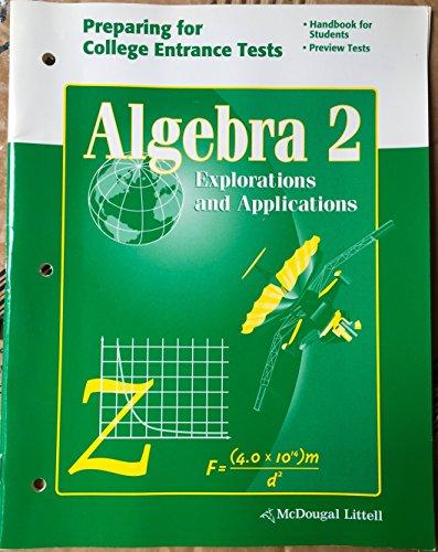 9780618371013: McDougal Littell High School Math Indiana: Teachers Edition Algebra 2 2004
