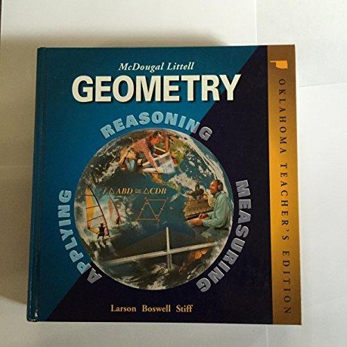 9780618371174: McDougal Littell Geometry, Oklahoma Edition