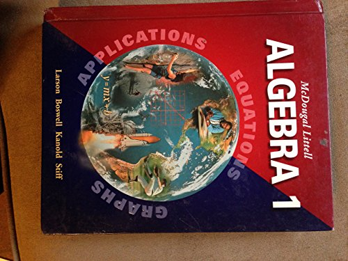 9780618371846: McDougal Littell High School Math Florida: Student Edition Algebra 2 2004