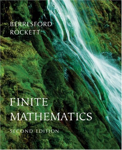 9780618372218: Finite Mathematics