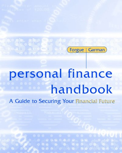 9780618372317: Personal Finance Handbook: A Guide to Securing Your Financial Future