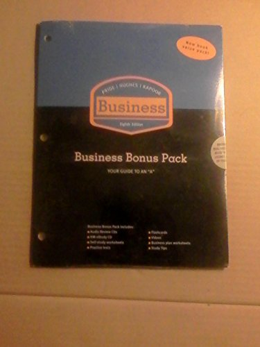 9780618372386: Audio Review Cds: Used with .Pride-Business