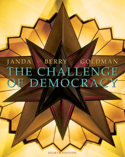 9780618372447: The Challenge of Democracy: Government in America