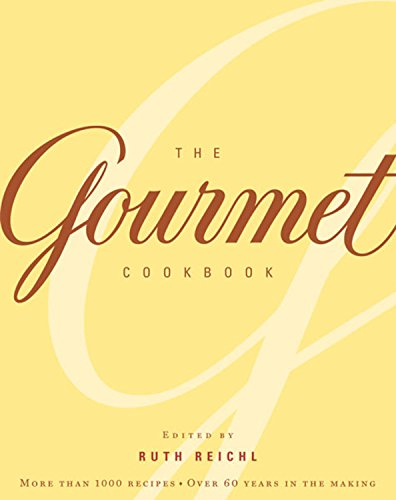 9780618374083: The Gourmet Cookbook: More than 1000 recipes
