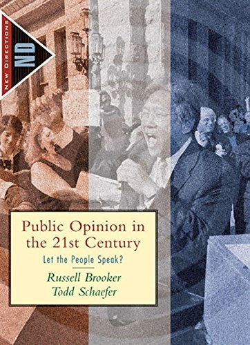 9780618376209: Public Opinion in the 21st Century: Let the People Speak? (New Directions in Political Behavior)