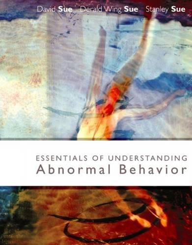 9780618376339: Essentials of Understanding Abnormal Behavior, Brief