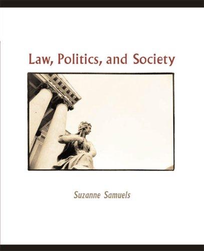 9780618376513: Law, Politics, and Society