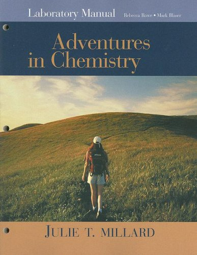 9780618376643: Laboratory Manual for Millard's Adventures in Chemistry
