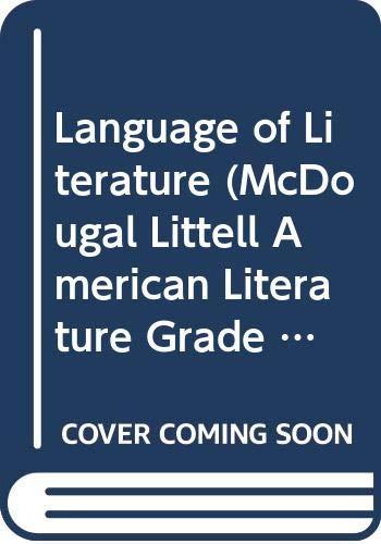 9780618376742: Language of Literature (McDougal Littell, American Literature Grade 11 (Georgia Teacher's Edition))