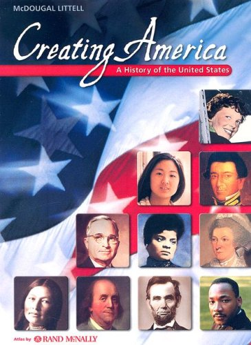9780618376902: Creating America: A History of the United States