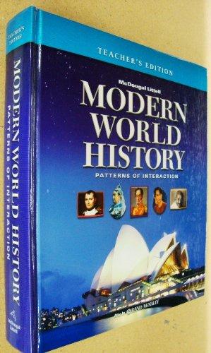 9780618377138: McDougal Littell World History: Patterns of Interaction: Teacher Edition Grades 9-12 Modern World History 2005