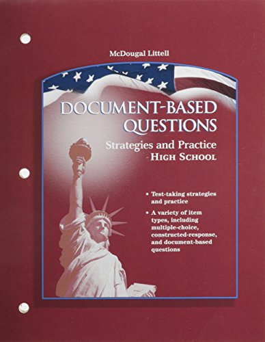 9780618377152: The Americans: Document-Based Questions Strategies and Practice: High School
