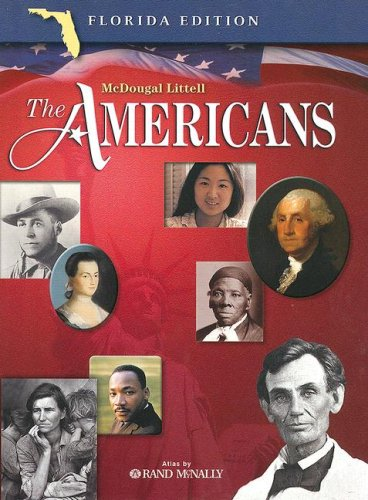 9780618377169: McDougal Littell The Americans Florida: Student Edition Grades 9-12 2005