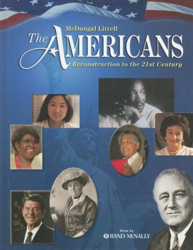 9780618377244: The Americans: Reconstruction to the 21st Century: Student Edition © 2005 2005