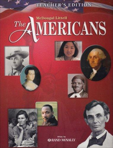 9780618377350: The Americans, Teacher's Edition