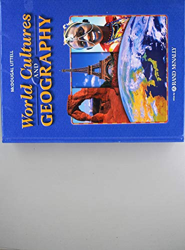 9780618377497: World Cultures & Geography, Grades 6-8: Mcdougal Littell World Cultures & Geography