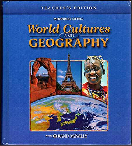 9780618377527: McDougal Littell World Cultures & Geography: Teacher Edition Grades 6-8 2005