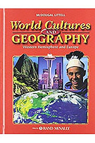 9780618377565: World Cultures & Geography: Western Hemisphere and Europe: Student Edition 2005 2005
