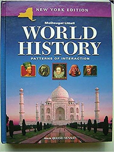 9780618377701: McDougal Littell World History: Patterns of Interaction New York: Student Edition Grades 9-12 2005