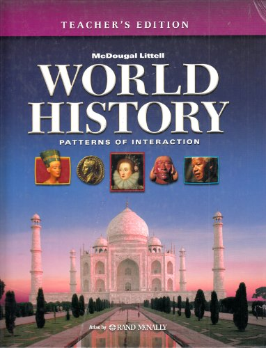9780618377749: McDougal Littell World History Patterns of Interaction Teacher's Edition Published in 2005 ISBN 0618377743