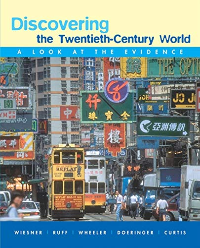 9780618379316: Discovering the Twentieth-Century World: A Look at the Evidence