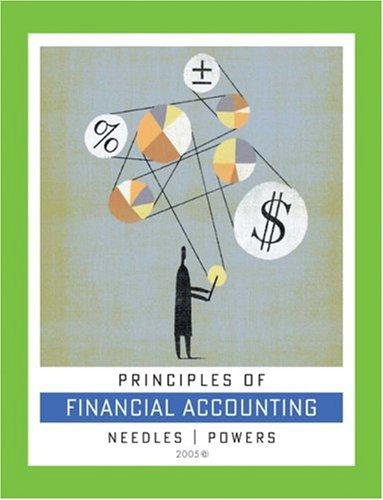 9780618379903: Principles of Financial Accounting, 9th Edition