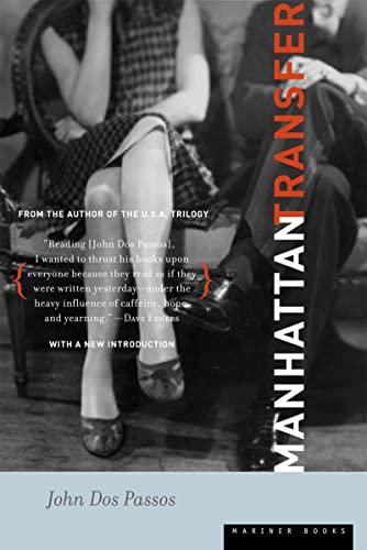 9780618381869: Manhattan Transfer: A Novel
