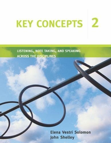 9780618382415: Key Concepts 2: Listening, Note Taking, and Speaking Across the Disciplines (Key Concepts: Listening, Note Taking, and Speaking Across the Disciplines) (Bk. 2)