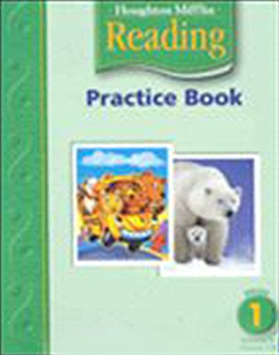 9780618384709: Houghton Mifflin Reading: Practice Book, Volume 1 Grade 1