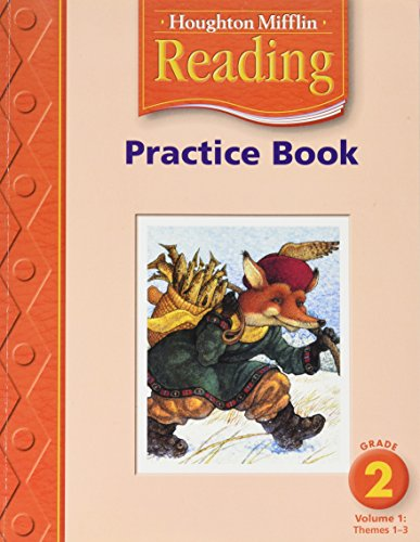 9780618384723: Houghton Mifflin Reading: Practice Book, Level 2, Vol. 1: Themes 1-3
