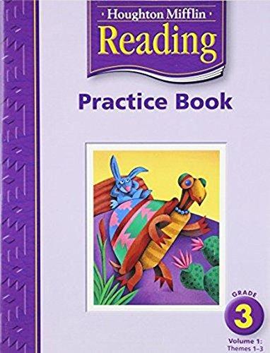 9780618384747: Houghton Mifflin Reading: Practice Book, Volume 1 Grade 3