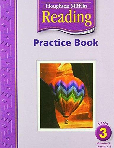 9780618384754: Houghton Mifflin Reading Practice Book: Grade 3 Volume 2