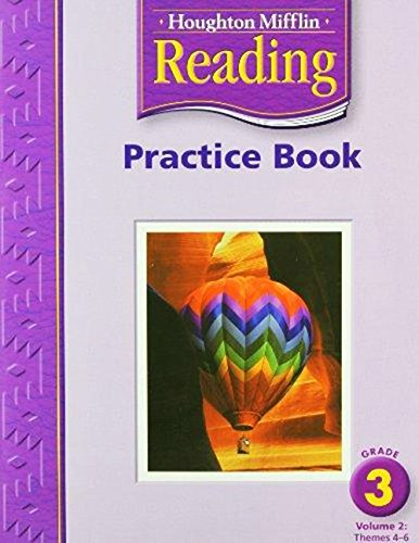 9780618384754: Houghton Mifflin Reading: Practice Book, Volume 2 Grade 3