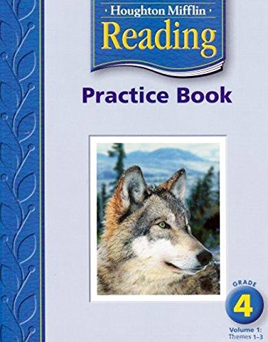 9780618384761: Houghton Mifflin Reading: Practice Book, Volume 1 Grade 4