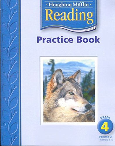 9780618384778: Houghton Mifflin Reading: Practice Book, Volume 2 Grade 4