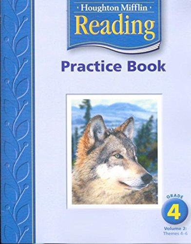 9780618384778: Houghton Mifflin Reading: Practice Book, Volume 2 Grade 4