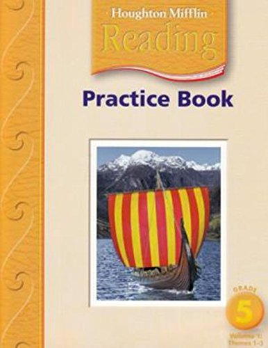 9780618384785: Houghton Mifflin Reading: Practice Book LV 5 Volume 1