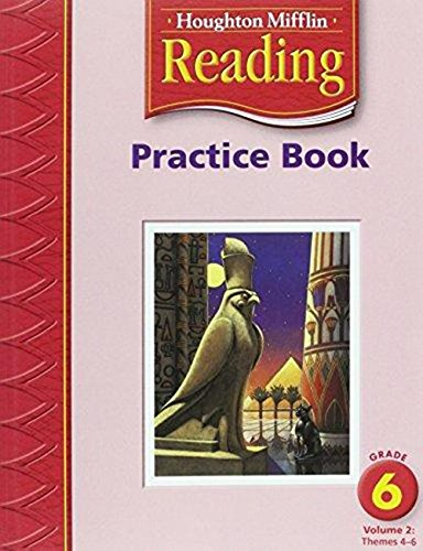 9780618384815: Houghton Mifflin Reading: Practice Book, Volume 2 Grade 6