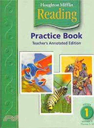 9780618384839: Houghton Mifflin Reading Practice Book - Teacher's Edition: Grade 1 Volume 2