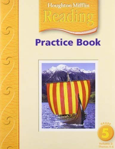 9780618384914: Houghton Mifflin Reading: Practice Book, Vol. 2, Grade 5, Teacher's Annotated Edition