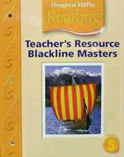 9780618385164 Houghton Mifflin Reading Teacher Resource