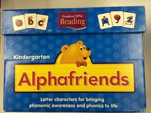 9780618385195: Houghton Mifflin Reading: Alphafriends Package Grades K-1