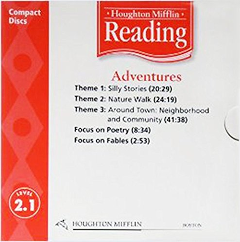 9780618385331: Houghton Mifflin Reading: Anthology Audio CD Grade 2.1