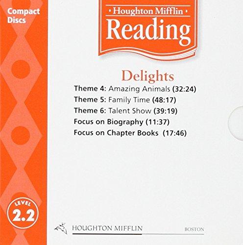 9780618385348: Houghton Mifflin Reading: Anthology Audio CD Grade 2.2