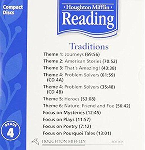 9780618385379: Houghton Mifflin Reading: Anthology Audio CD Grade 4