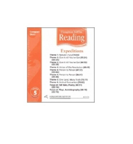 9780618385386: Houghton Mifflin Reading: Anthology Audio CD Grade 5
